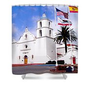 Mission San Luis Rey Shower Curtain