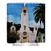 Mission San Rafael Shower Curtain