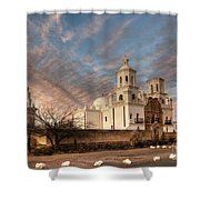 Mission San Xavier Del Bac Shower Curtain