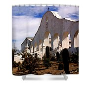 Mission San Xevier Del Bac Shower Curtain