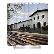 Mission Stairs Shower Curtain