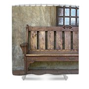 Mission Still Life II, Mission San Juan Capistrano, California Shower Curtain