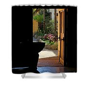 Missions Side Door Shower Curtain
