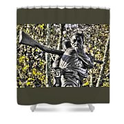 Mississippi At Gettysburg - Desperate Hand-to-hand Fighting No. 4 Shower Curtain