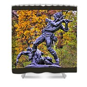Mississippi At Gettysburg - Desperate Hand-to-hand Fighting No. 5 Shower Curtain