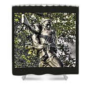 Mississippi At Gettysburg - The Rage Of Battle No. 2 Shower Curtain