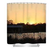 Mississippi Bayou 11 Shower Curtain