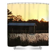 Mississippi Bayou 12 Shower Curtain