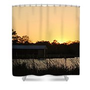 Mississippi Bayou 14 Shower Curtain