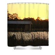 Mississippi Bayou 15 Shower Curtain