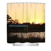 Mississippi Bayou 16 Shower Curtain