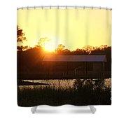 Mississippi Bayou 5 Shower Curtain
