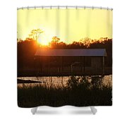 Mississippi Bayou 6 Shower Curtain