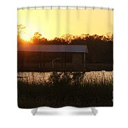 Mississippi Bayou 7 Shower Curtain