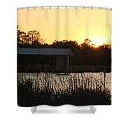 Mississippi Bayou 9 Shower Curtain