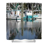 Mississippi Boats Shower Curtain
