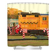 Mississippi Christmas 13 Shower Curtain