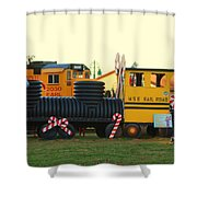 Mississippi Christmas 14 Shower Curtain