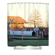 Mississippi Christmas 17 Shower Curtain