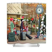 Mississippi Christmas 20 Shower Curtain