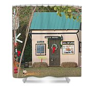 Mississippi Christmas 4 Shower Curtain