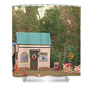 Mississippi Christmas 5 Shower Curtain