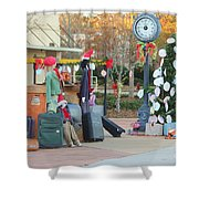 Mississippi Christmas 7 Shower Curtain