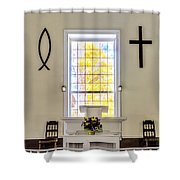 Mississippi Church Shower Curtain