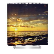 Mississippi Gulf Coast Beauty Shower Curtain