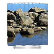 Mississippi Headwaters Shower Curtain