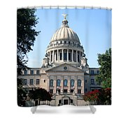 Mississippi State Capitol Downtown Jackson Shower Curtain