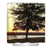 Mississippi Sunset 12 Shower Curtain