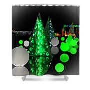 Missouri Botanical Garden Glow Dsc09293 Shower Curtain