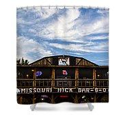 Missouri Hick Bbq Shower Curtain