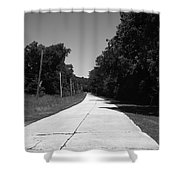 Missouri Route 66 2012 Bw Shower Curtain