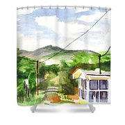 Missouri View II Shower Curtain