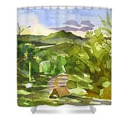 Missouri View Shower Curtain