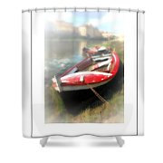 Mist On The Arno Poster Shower Curtain