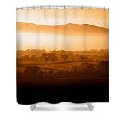 Mist Shrouded Knockmealdown Mountains Shower Curtain