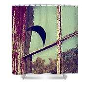 Mister Moon Shower Curtain