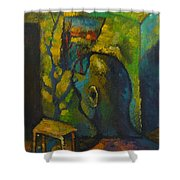 Mystic Room Shower Curtain
