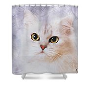 Mistletoe  Shower Curtain