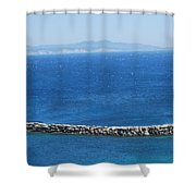 Mistral Trade Wind Shower Curtain