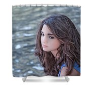Mistress Of Dreams Shower Curtain by Evelina Kremsdorf
