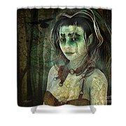 Mistress Of The Dark Woods Shower Curtain