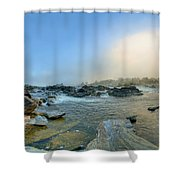 Mists Of Great Falls Shower Curtain