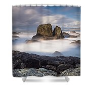 Mists Of The Sea Shower Curtain