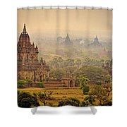 Misty Dawn 2 Shower Curtain