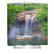 Misty Falls Shower Curtain