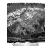 Misty Milford Shower Curtain